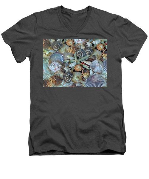 Ocean Gems 5 Men's V-Neck T-Shirt