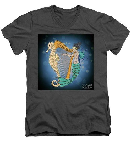 Ocean Lullaby3 Men's V-Neck T-Shirt