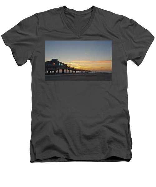 Ocean Pier Men's V-Neck T-Shirt