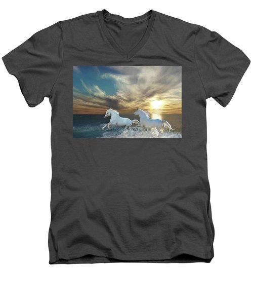 Ocean Play Men's V-Neck T-Shirt