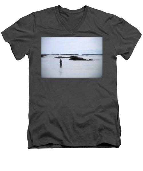 Ocean Solitude Men's V-Neck T-Shirt