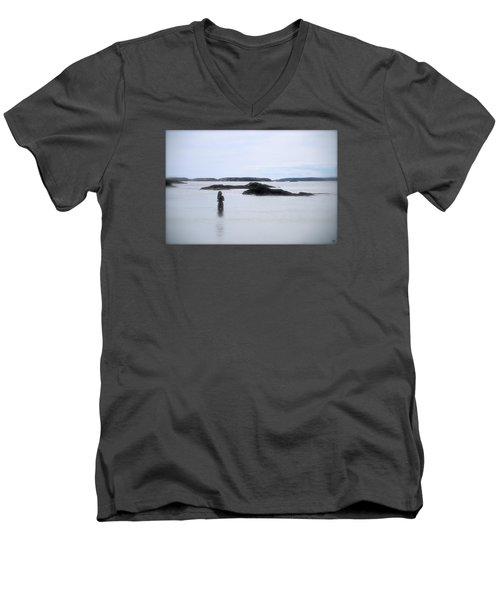 Ocean Solitude Men's V-Neck T-Shirt
