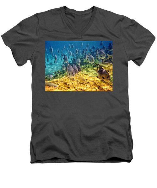 Oceans Below Men's V-Neck T-Shirt