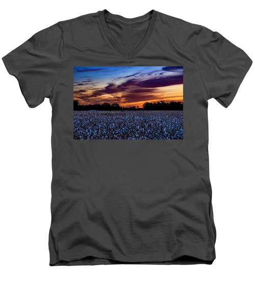 October Cotton Men's V-Neck T-Shirt