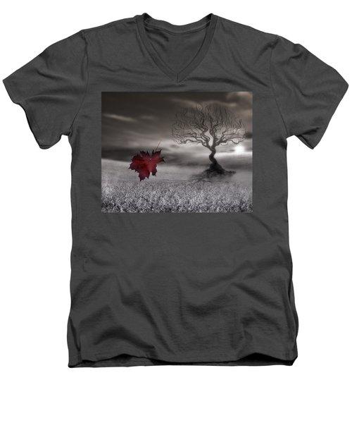 October Fades Men's V-Neck T-Shirt