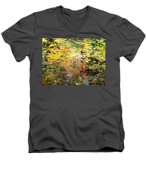 October Pond Men's V-Neck T-Shirt