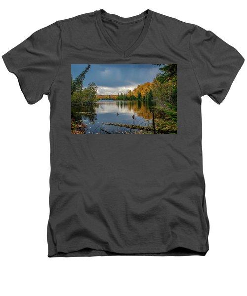 October Storm Men's V-Neck T-Shirt