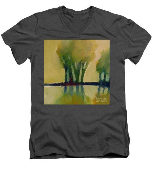 Odd Little Trees Men's V-Neck T-Shirt