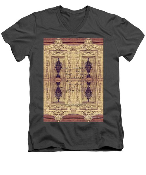 Ode To A Grecian Urn Palais Garnier Paris France Men's V-Neck T-Shirt