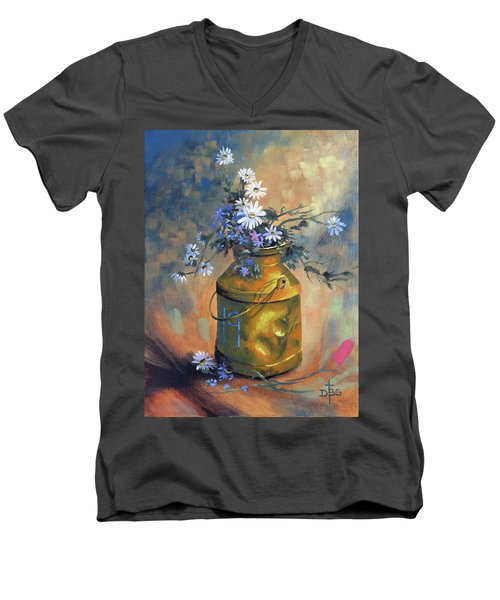 Ode To Eddie Men's V-Neck T-Shirt
