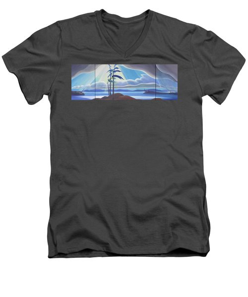 Ode To The North II Men's V-Neck T-Shirt