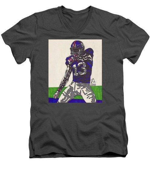 Odell Beckham Jr  Men's V-Neck T-Shirt