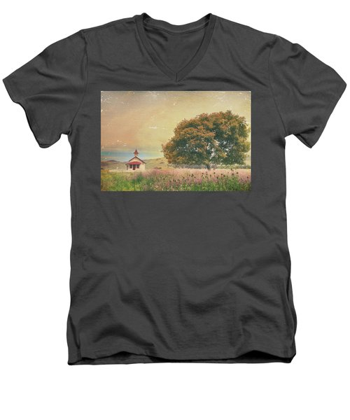 Of Days Gone By Men's V-Neck T-Shirt by Laurie Search