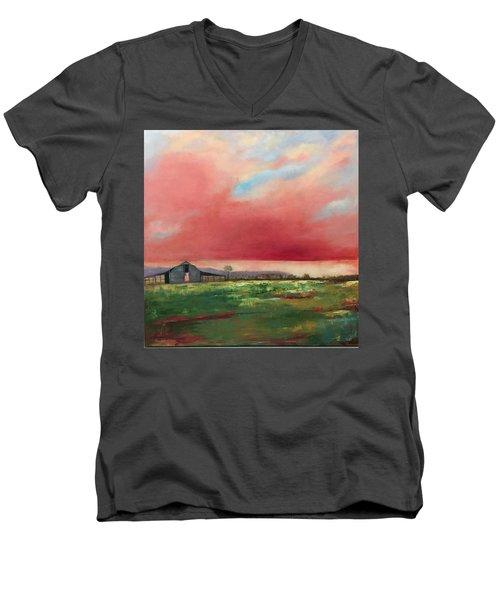 Off Highway 27 Men's V-Neck T-Shirt