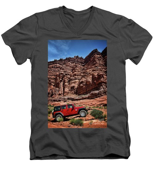 Off Road Adventure Men's V-Neck T-Shirt