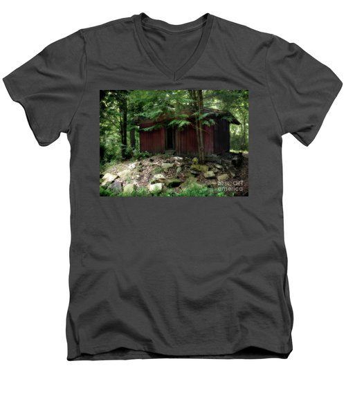 Off The Grid Men's V-Neck T-Shirt