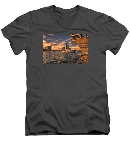Off The Port Stern Men's V-Neck T-Shirt