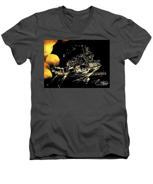 Off The Rails Men's V-Neck T-Shirt