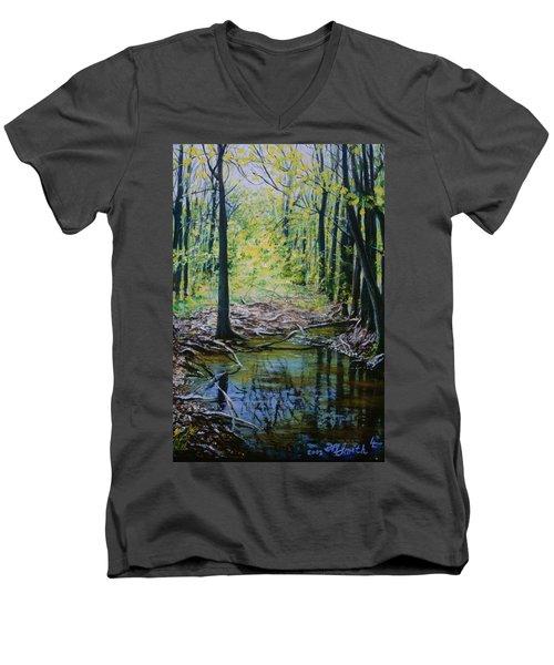 Off The Trail Men's V-Neck T-Shirt