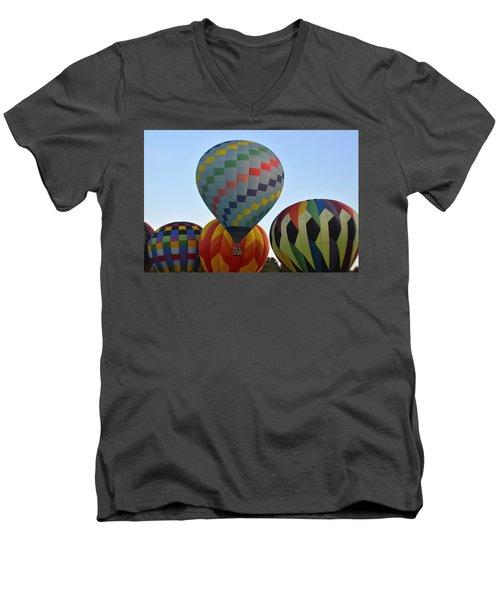 Off We Go Men's V-Neck T-Shirt