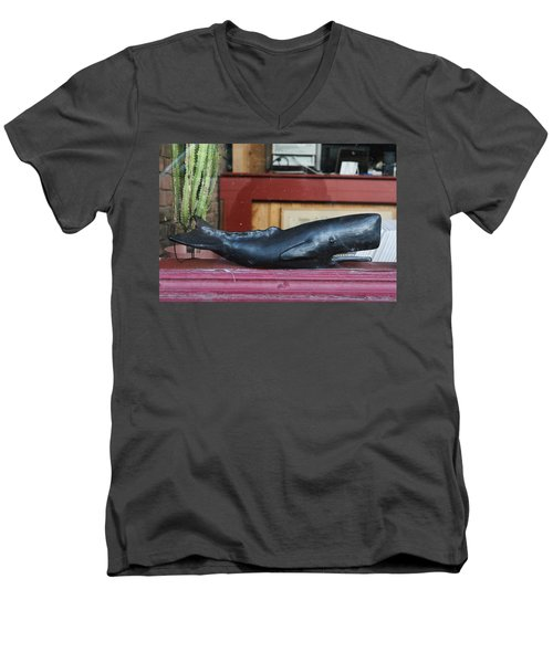 Office Whale Men's V-Neck T-Shirt