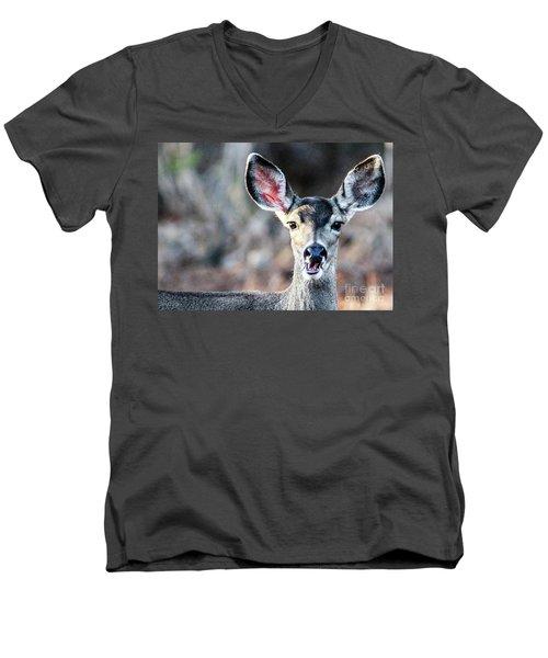 Oh, Deer Men's V-Neck T-Shirt
