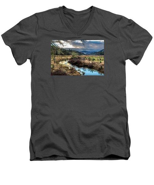 Ohop Creek Men's V-Neck T-Shirt