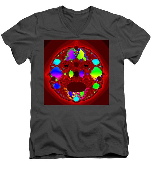 Oidivoclus Men's V-Neck T-Shirt