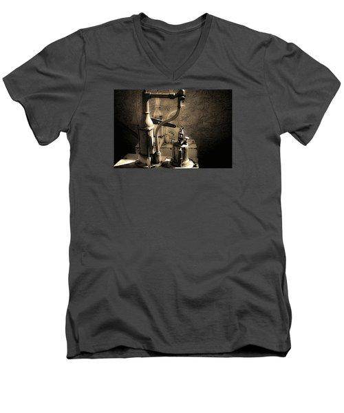 Oil Can Men's V-Neck T-Shirt