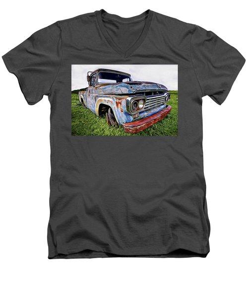 Ol' Blue Men's V-Neck T-Shirt