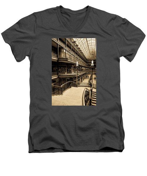 Old Arcade Men's V-Neck T-Shirt
