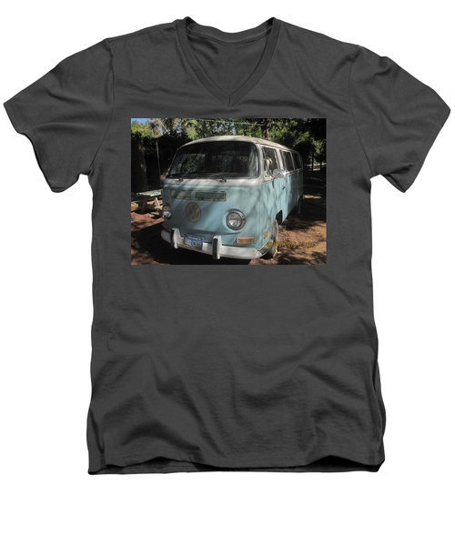 Old Beetle Bug Men's V-Neck T-Shirt by Paul Meinerth