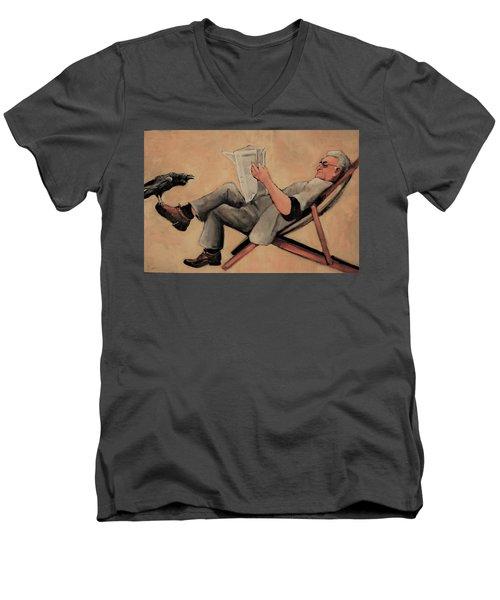 Old Birds Men's V-Neck T-Shirt
