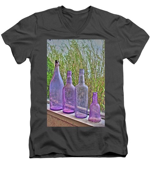Old Bottle Collection Men's V-Neck T-Shirt
