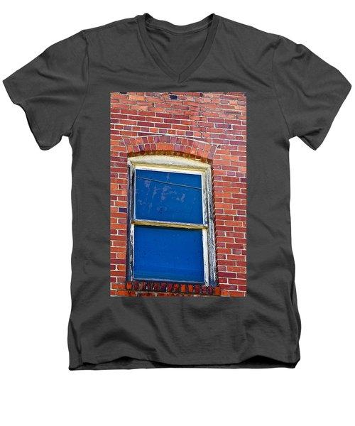 Old Brick Building Men's V-Neck T-Shirt