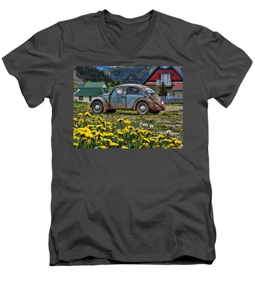 Old Bug Men's V-Neck T-Shirt