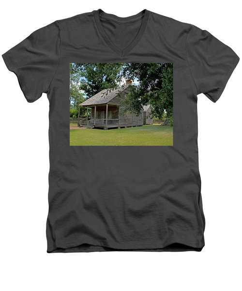 Old Cajun Home Men's V-Neck T-Shirt
