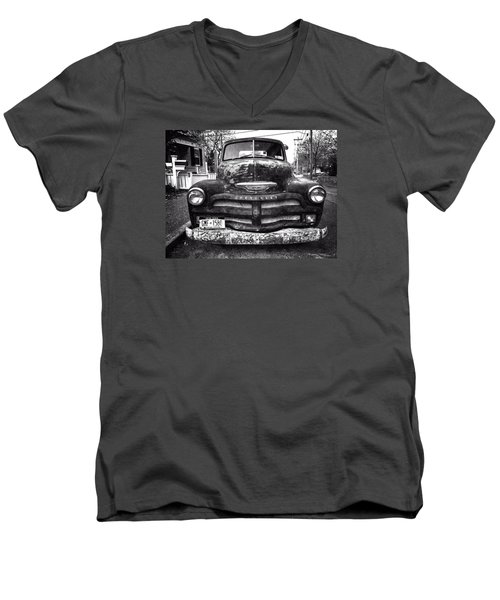 Old Chevy 2 Men's V-Neck T-Shirt