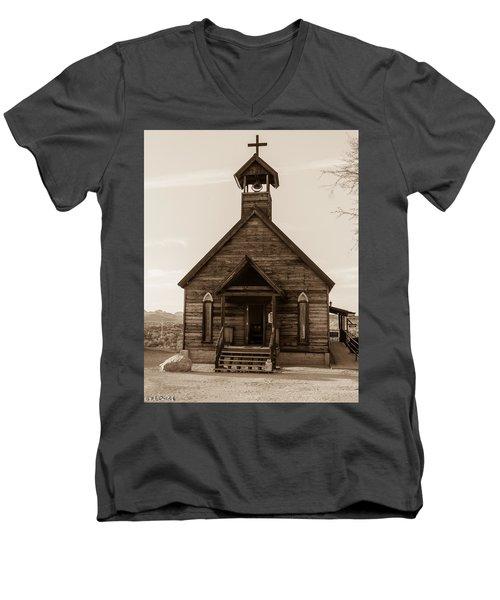 Old Church Men's V-Neck T-Shirt