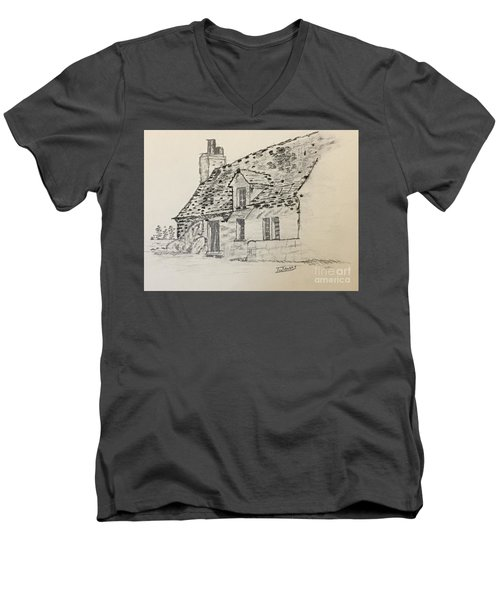 Old Cottage Men's V-Neck T-Shirt