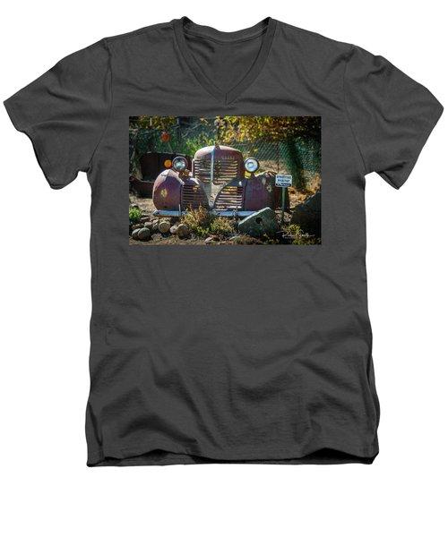 Old Dodge Rust Bucket Men's V-Neck T-Shirt