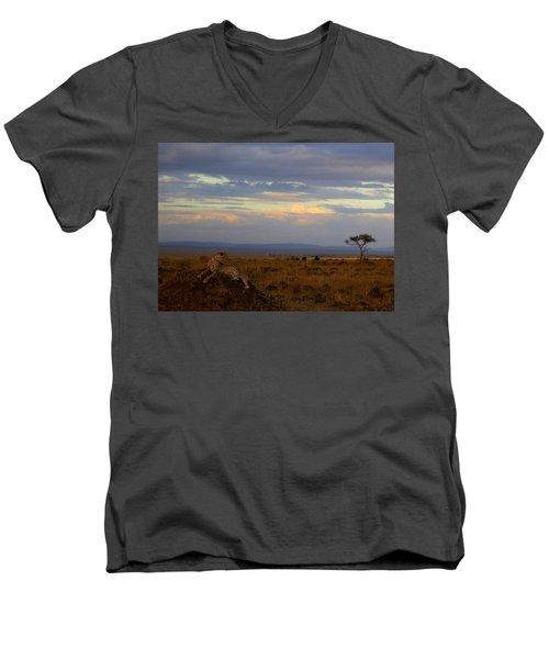 Old Earth Men's V-Neck T-Shirt