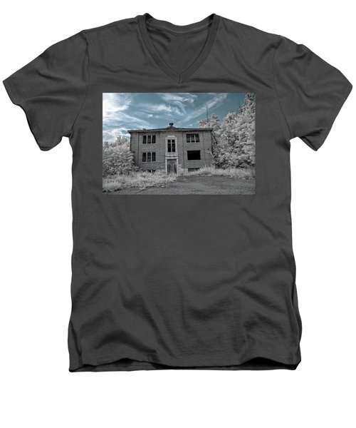 Old Edmonton High School Ir 2 Men's V-Neck T-Shirt