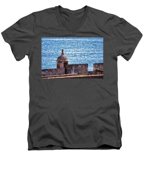 Old Fort  Men's V-Neck T-Shirt
