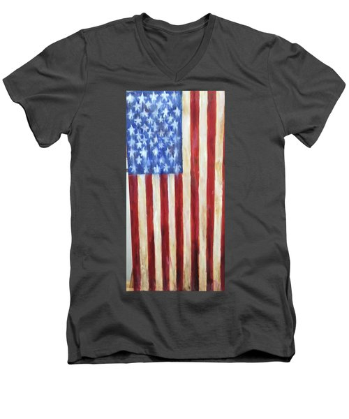 Old Glory Vii Men's V-Neck T-Shirt