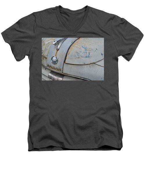 Old Gray Ram Men's V-Neck T-Shirt