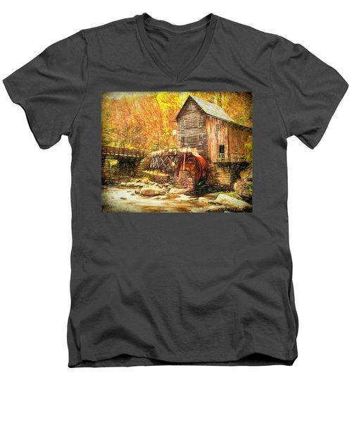 Old Grist Mill Men's V-Neck T-Shirt