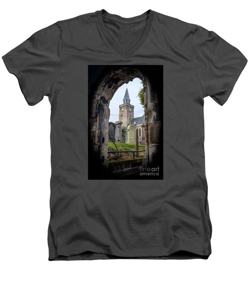 Old High St. Stephen's Church Men's V-Neck T-Shirt by Amy Fearn