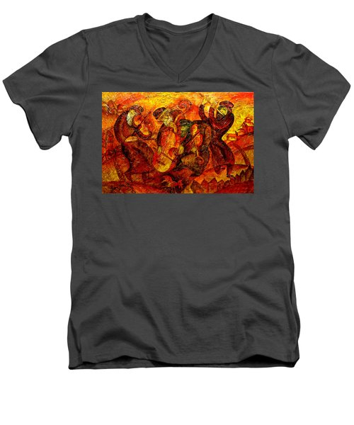 Old Klezmer Band Men's V-Neck T-Shirt