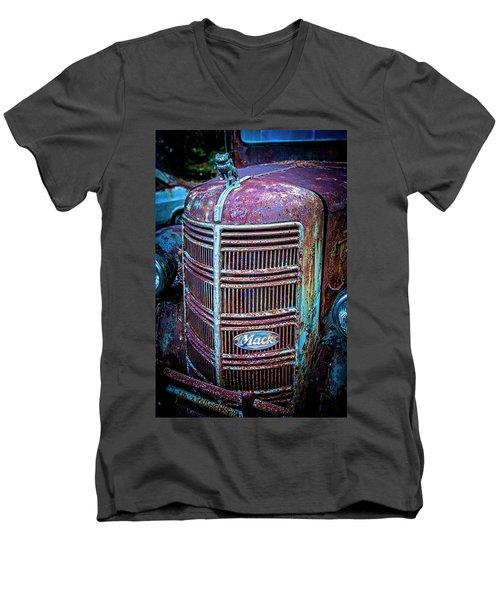Old Mack Grille Men's V-Neck T-Shirt